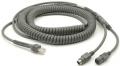 CBA-K08-C20PAR - Zebra PS / 2 kabel klávesnice